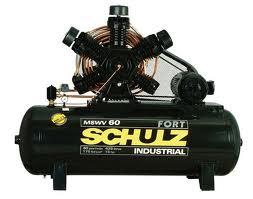 Manutenção compressor schulz