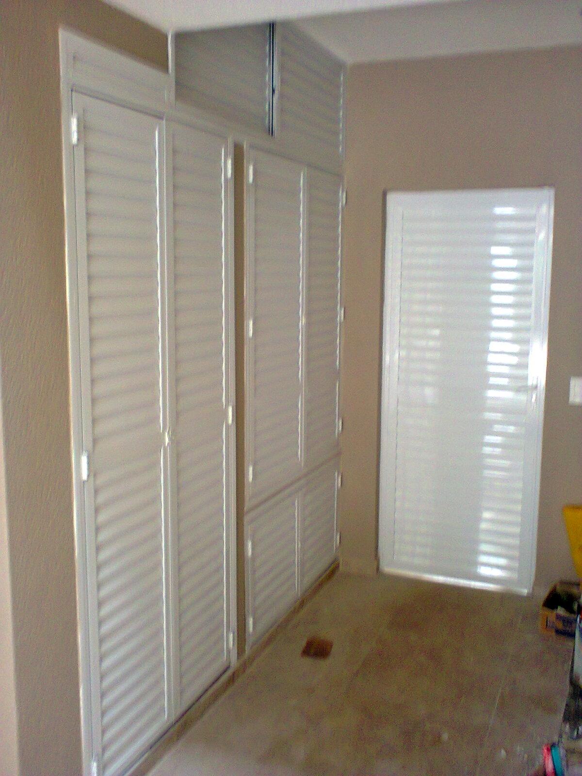 #614B34 portas e janelas de alumínio armários gabinetes e corrimão de 700 Janelas Venezianas De Aluminio Sob Medida